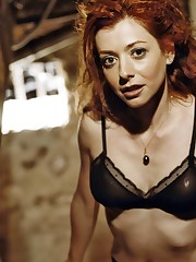 Sex Scandal Alyson Hannigan Sex Gauze..
