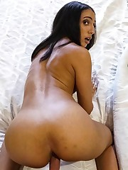 Angelica Cruz deep-throat Dick and gets..