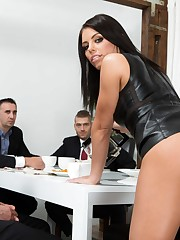 Cool brunette Adriana Chechik pounding..