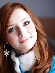 Download wallpaper eyes, girl, blue,..