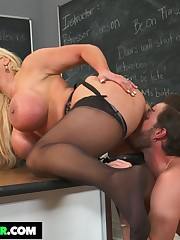 My First Fuckfest Teacher Alura Jenson..