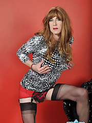 Porno pics of Magnificent TGirl Emily..