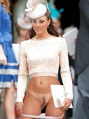 Kate Middleton Panties Aside Public..