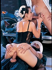 Classic pornography queen Daniella Rush..