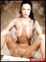 Angelina Jolie in the nude