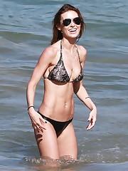 Audrina Patridge - Bikini Candids in..
