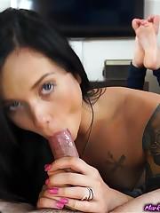 4 handstrokes & 1 gobble Sniz Porno