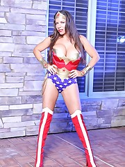 Alicia DiMarco: Foxy dark-haired Alicia..