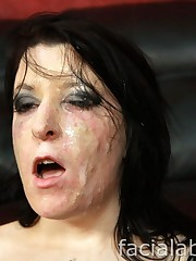Facial cumshot Abuse Miss Genocide..