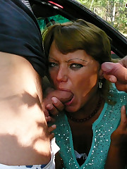 This horny mature slut really gets into..