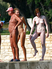 Curious topic high chaparal nudist camp..