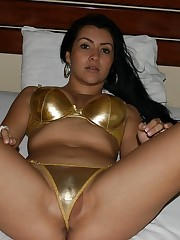 HQ Nude Pics: Scorching latina wife