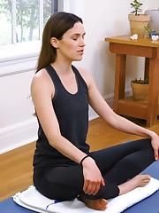 Adriene Mishler the Yoga influencer..