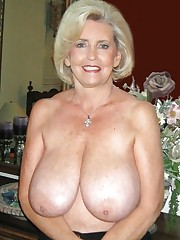 Grannie with big titties pornography..