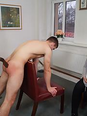 bite smacking cfnm&spanking