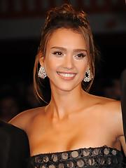 Jessica Alba Machete premiere at the..
