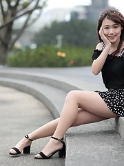 Verão, shortinho, vestido, asiático,..