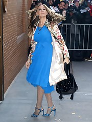 Sarah Jessica Parker Fashion - Out in..
