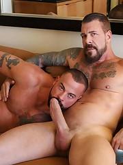 Rocco Steele and Sean Duran