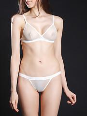 Airplay String Bikini in Vanilla..