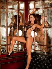 Karina Smirnoff Nude Playboy Pics Young..