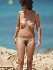 Naked frontal at the beach sorgusuna..