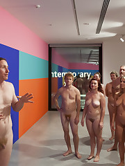 portland art museum nudist girls
