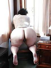 BBW Granny Enormous Butt - Obese..