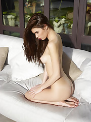 Victoria R Nude Lounging Coolios..