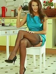 Angie George Stockings - XXXPornoZone