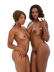 Nyomi Banxxx and Imani Rose in milk -..