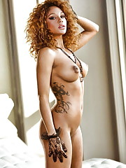 Dark-hued super-sexy and a hotty -  -..