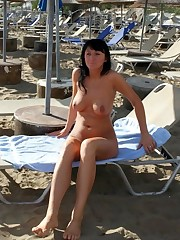 My wife is a nudist, Spanish bang-out..