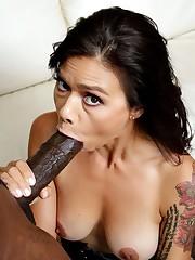 Inked asian pornstar Dana Vespoli..