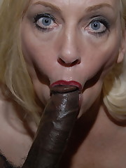 Mature milf enjoy black pipe solved -..