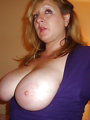 Big Titted Mega-bitch UK Wife upskirtporn