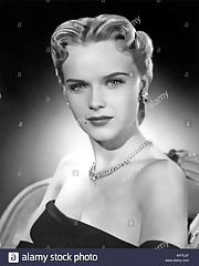 Anne Francis Actress Stock  Anne..