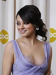 Mila Kunis Marvelous Cleavage 0002
