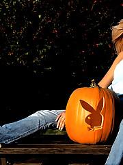 Glamour erotic centerfold Amanda Paige..