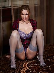 Outstanding model Carol from ArtOfGloss..