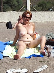 Naked housewives nasty on the naturist..