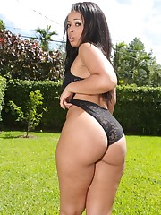 Ava Sanchez big booty latina fucks hard..