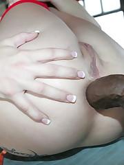 Black penises in backside pornography -..