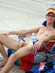 Phat cocked male nudists on public..