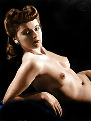Retro huge-chested girls Vintage nude..