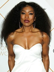 ANGELA BASSETT at 2018 Essence Black..