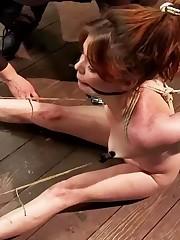 Fetish Sapphic Toe Restrain bondage