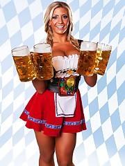 "BEER Doll GRETCHEN ""4 Liters"".."