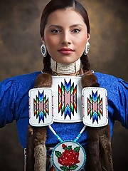 "Native American Dancer. ""American.."