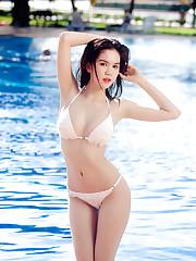 Ngoc Trinh Sexy VietNamese Bikini Model..